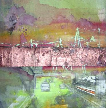 Autobahnbrücke/ Autobahn bridge, 2006, 50 x 30 cm, Privatbesitz/ privately owned