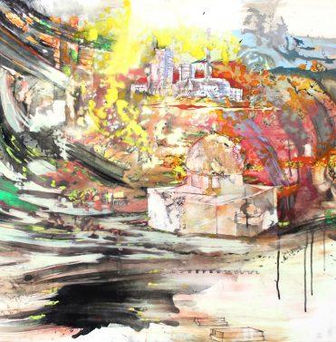 Jerusalem III, 2011, 70 x 100 cm