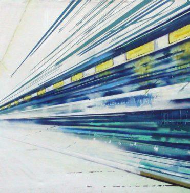 Tunnel, 2005, 100 x 200 cm, verloren/ lost